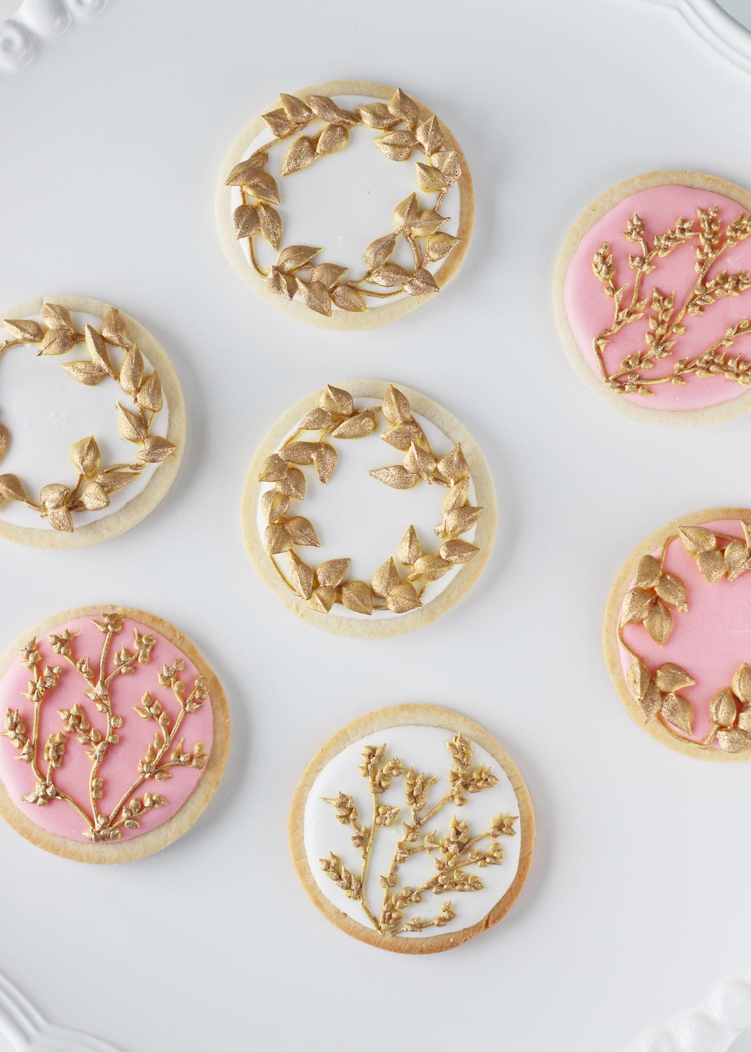 goldleavescookie3